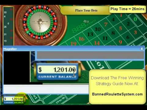Casino Roulette Flaw Fake - Winning Roulette System for Rapid Roulette