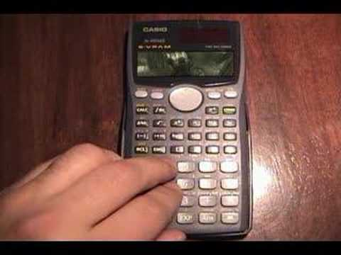 Secret Game on Casio Calculators Secret Game on Casio Calculators
