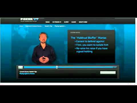 Poker Tricks And Tips Playing Against a Maniac by Daniel Negreanu Poker Tricks And Tips   Playing Against a Maniac by Daniel Negreanu