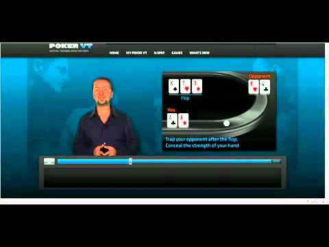 Poker Tricks And Tips Setting a Trap by Smooth Calling with AA by Daniel Negreanu Poker Tricks And Tips   Setting a Trap by Smooth Calling with AA by Daniel Negreanu