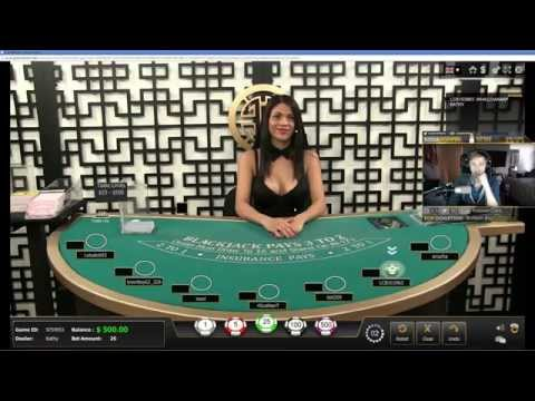 Casino Blackjack with Sodapoppin and Kathy the dealer Casino Blackjack with Sodapoppin and Kathy the dealer.