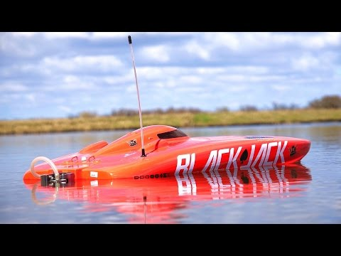 RC ADVENTURES 4S Lipo Blackjack 29 BL Catamaran RC SPEED BOAT from ProBoat RC ADVENTURES   4S Lipo Blackjack 29 BL Catamaran RC SPEED BOAT from ProBoat
